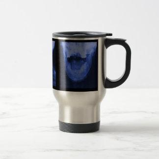 Mug De Voyage 3 radiographiés - Bleu électromagnétique
