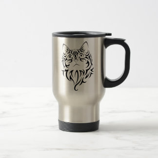 Mug De Voyage Acier inoxydable de chat voyage de 15 onces/tasse