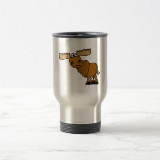 Mug De Voyage AG conception maladroite d'orignaux