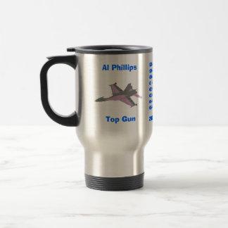 Mug De Voyage Al Phillips,     Top Gun,       Avg 2007. Chef,…