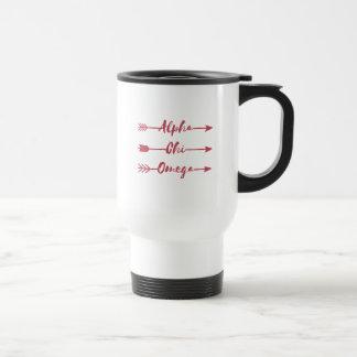 Mug De Voyage Alpha flèches d'Omega | de Chi
