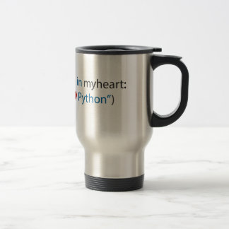 Mug De Voyage Amant de python amant - et de café