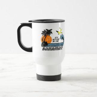 Mug De Voyage Améliorez en Bahamas s'est fané