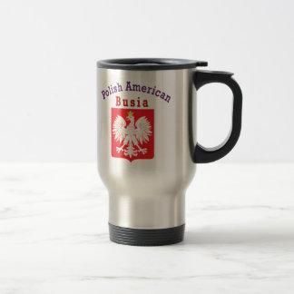 Mug De Voyage Américain polonais Busia