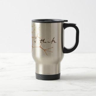 Mug De Voyage Arbre de Darwin de la vie : Je pense