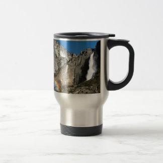 Mug De Voyage Arc-en-ciel d'automnes de stimulant de Yosemite