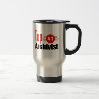 Mug De Voyage Archiviste supérieur