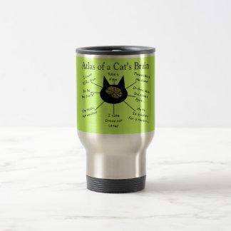 Mug De Voyage Atlas du cerveau d'un chat
