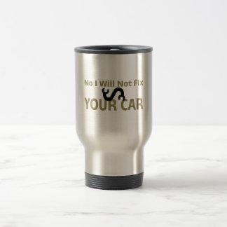 Mug De Voyage Aucun je ne fixerai pas votre voiture