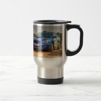 Mug De Voyage Autocollants de STi SWRT de Subaru Impreza