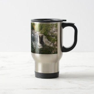 Mug De Voyage Automnes de Blackwater, la Virginie Occidentale