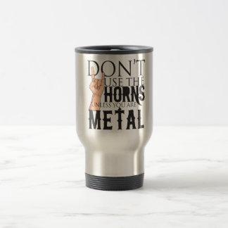 Mug De Voyage Badass de métaux lourds