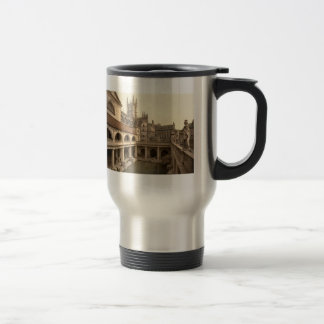 Mug De Voyage Bains et abbaye romains IV, Bath, Somerset,