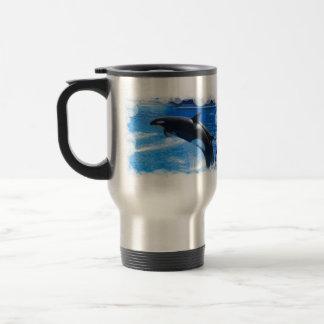 Mug De Voyage Baleine sautante d'orque