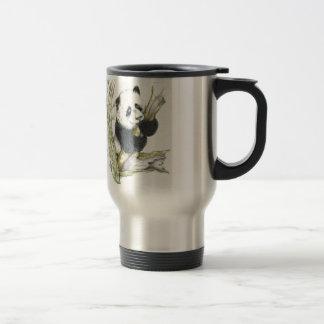 Mug De Voyage Bambou mignon de dessin au crayon d'ours panda