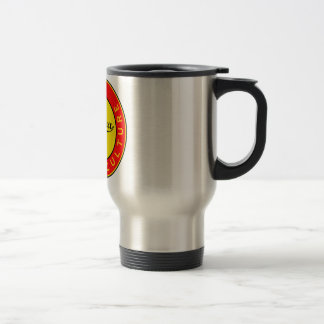 Mug De Voyage Barcelone, Spain, red circle, art