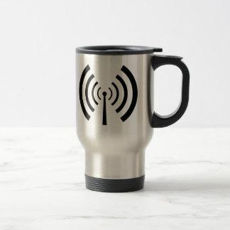 Mug De Voyage Barres de signal radio