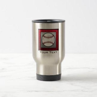 Mug De Voyage Base-ball en aluminium balayé de regard