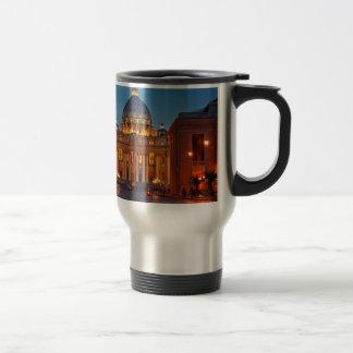 Mug De Voyage Basilique Saint-Pierre dans le Rome - l'Italie