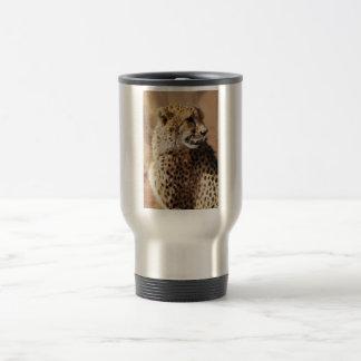 Mug De Voyage Beauté de guépards en Afrique