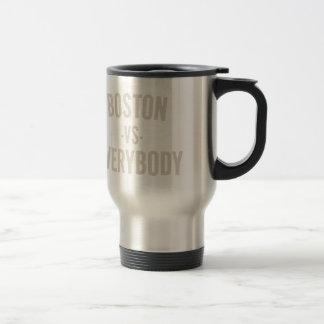 Mug De Voyage Boston contre tout le monde