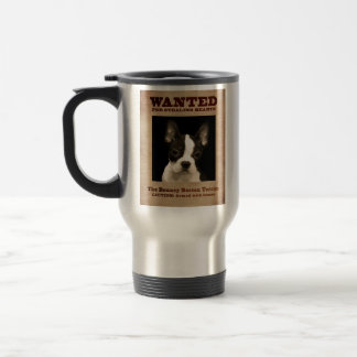 Mug De Voyage Boston plein d'entrain Terrier