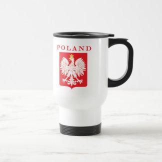 Mug De Voyage Bouclier de rouge de la Pologne Eagle