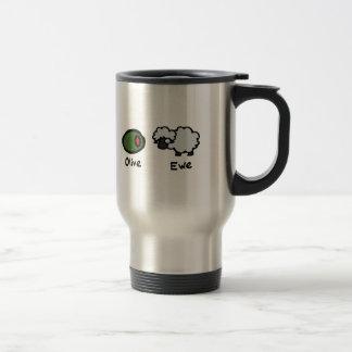 Mug De Voyage Brebis olive