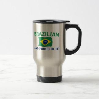 Mug De Voyage Brésilien fier