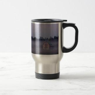 Mug De Voyage Brouillard de matin d'île, île de St Joseph