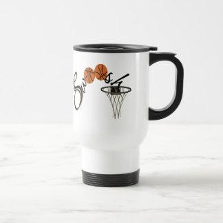 Mug De Voyage Bruissement de basket-ball