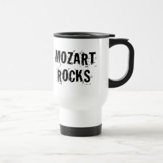 Mug De Voyage Cadeau drôle de musique de roches de Mozart