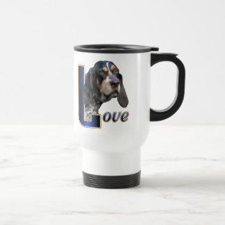 Mug De Voyage Cadeaux de Coonhound de Bluetick