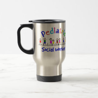 Mug De Voyage Cadeaux pédiatriques d'assistant social
