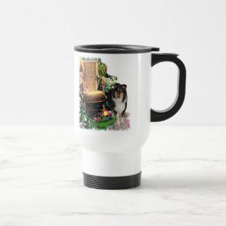 Mug De Voyage Cadeaux rugueux tricolores d'art de colley