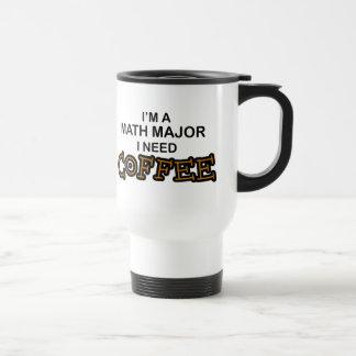 Mug De Voyage Café du besoin - commandant de maths
