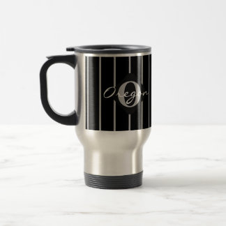 Mug De Voyage Café noir et gris Tasse-Orégon de voyage de