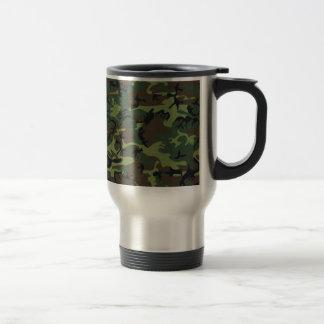 Mug De Voyage [CAMO-GR-1] Camo vert et brun