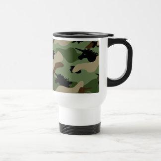 Mug De Voyage Camouflage de licorne