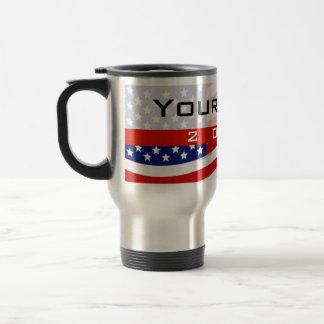Mug De Voyage Campagne politique, bannière étoilée de CYO