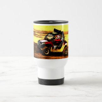Mug De Voyage Cavalier d'ATV - tous les sports mécaniques