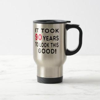 Mug De Voyage Cela a pris 90 ans de conceptions d'anniversaire