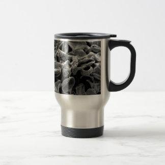 Mug De Voyage cellules ou bactéries noires