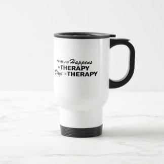 Mug De Voyage Celui qui se produise - thérapie