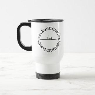 Mug De Voyage Cercle de pi