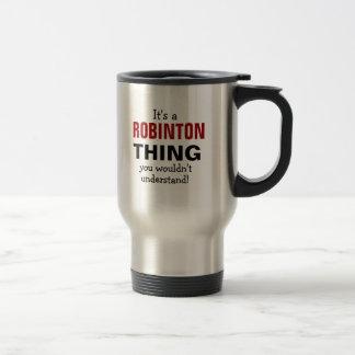 Mug De Voyage C'est une chose de Robinton que vous ne