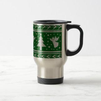Mug De Voyage Chandail laid de Noël