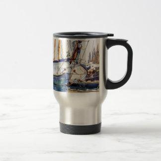 Mug De Voyage Chanteur de Sargent John embarquant Majorca