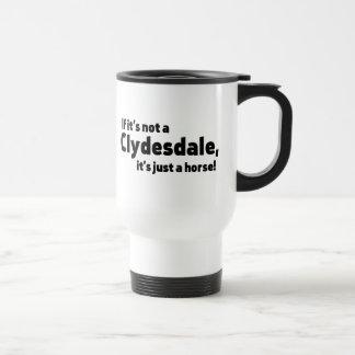 Mug De Voyage Cheval de Clydesdale
