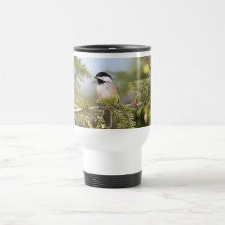 Mug De Voyage Chickadee couvert par noir